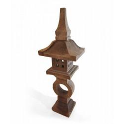 lanterne japonaise en pierre 130 cm pour jardin koh deco. Black Bedroom Furniture Sets. Home Design Ideas