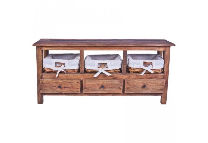 Meuble en bois exotique maison design - Meuble escalier bois exotique ...