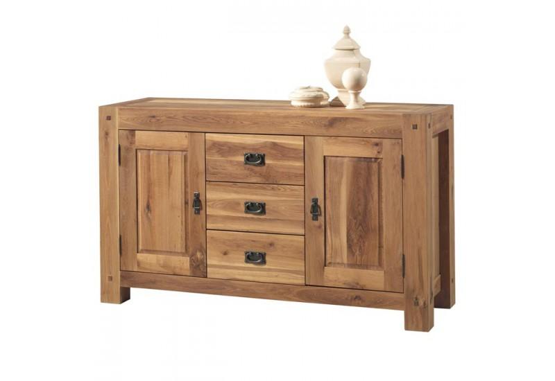 bahut cm lodge casita en bois exotique koh deco. Black Bedroom Furniture Sets. Home Design Ideas