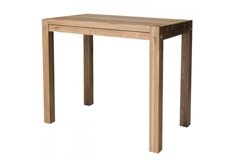 Table mange debout s jour lodge casita en bois koh deco for Table mange debout