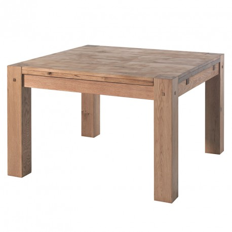 Table carr e l 120 cm s jour lodge casita en bois koh deco for Table de sejour carree