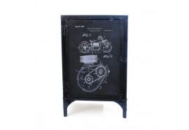 Confiturier en métal recyclé Engine Moto style industriel