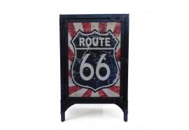 Confiturier en métal recyclé Route 66 style industriel