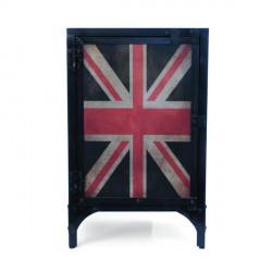 Confiturier en métal recyclé British style industriel