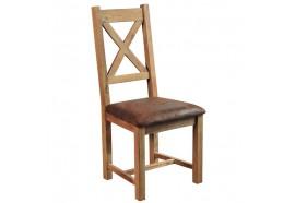 Chaise en chêne massif LODGE