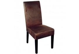 Chaise marron Havane Casita