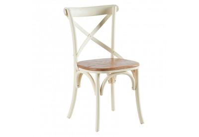 Chaise blanche en orme casita pour le s jour koh deco for Chaise blanche sejour