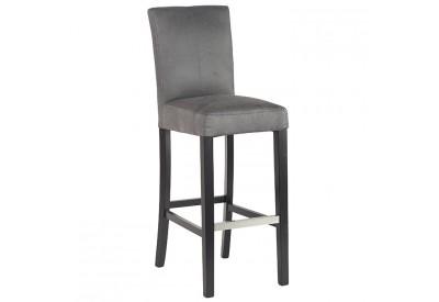 Chaise de bar grise - CASITA
