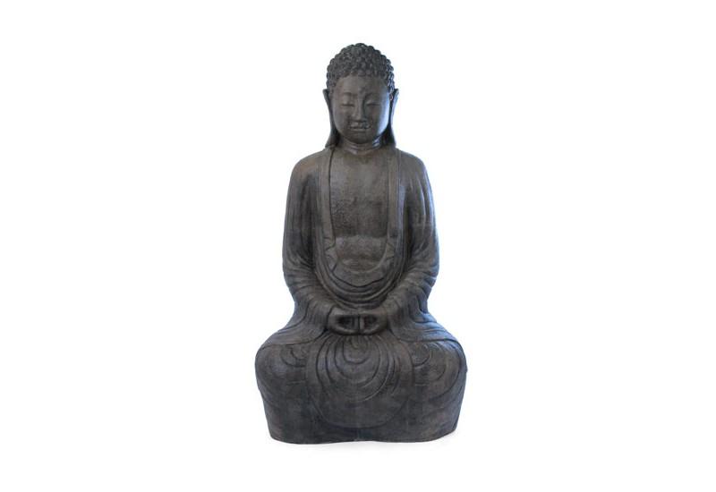Statue bouddha assis 2 m pour le jardin bali koh deco - Statue bouddha pour jardin ...