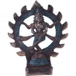 Statue de Shiva en bronze