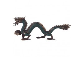 Statue Dragon en bronze
