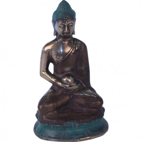 statue de bouddha en bronze d co de bali koh deco. Black Bedroom Furniture Sets. Home Design Ideas
