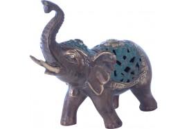 Statue d'Éléphant en bronze