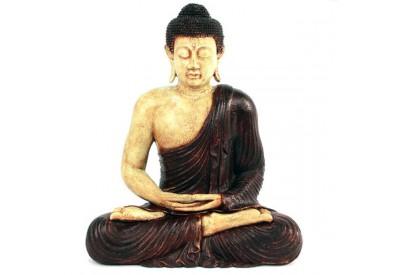 Statue de Bouddha Méditation 60 cm - Marron