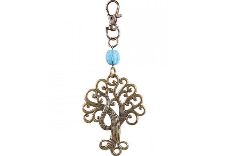 Porte cl s arbre de vie perle accessoire bali koh deco - Porte cle perle ...