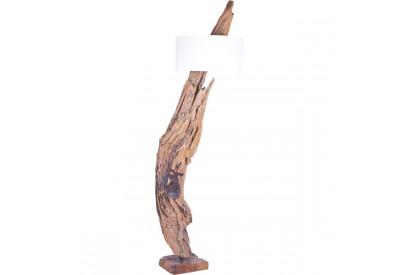 Lampadaire en bois flotté teck Negara