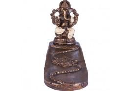 Porte encens Ganesh blanc