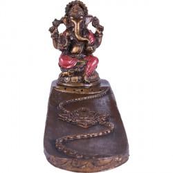 Porte encens Ganesh - Rouge