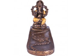 Porte encens Ganesh orange
