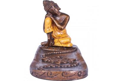 Porte encens Bouddha relax - Orange