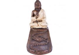 Porte encens Bouddha Thailandais blanc