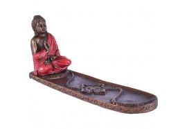Porte encens Bouddha Thailandais rouge