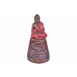 Porte encens Bouddha Thaïlandais - Rouge