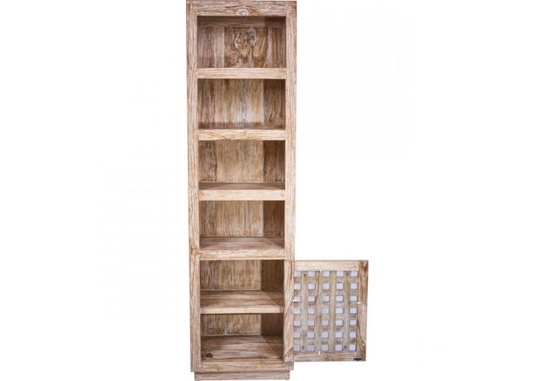tag re colonne maba en teck blanchi pour le salon koh deco. Black Bedroom Furniture Sets. Home Design Ideas