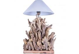 Lampe en bois flotté FIRE