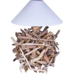Lampe en bois flotté GRANAT
