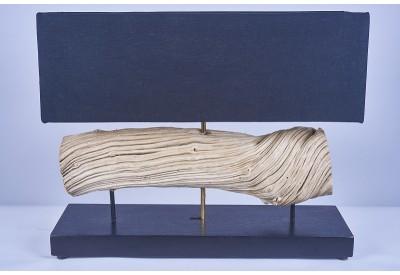 Lampe PIRU en bois de liane