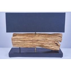 Lampe DUA en bois de liane