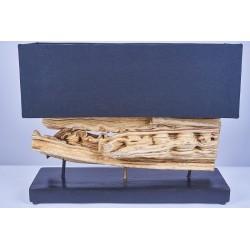 Lampe EMPAT en bois de liane