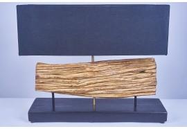 Lampe ENAM en bois de liane