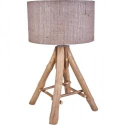 Lampe en bois flotté TIPI