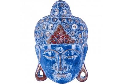 Masque Bouddha en bois