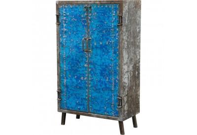 Petite armoire en métal recyclé L 85 cm