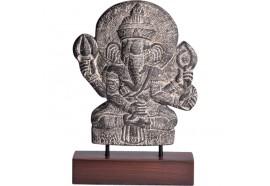 Statuette Ganesh en ciment