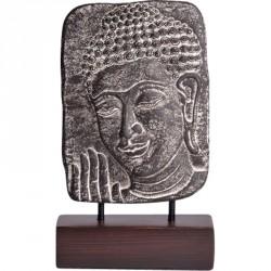 Statuette de Bouddha en ciment