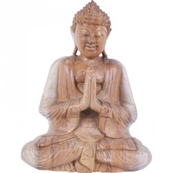 Sculpture Bouddha Offrande - Añjali-mudrā