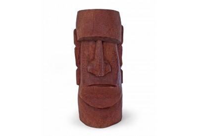 Tiki Moai en cocotier H 50 cm