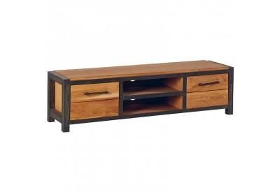 Meuble TV L 150 cm salon Scott Casita en chêne & métal |Koh Deco