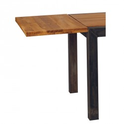 Allonge en chêne table SCOTA 150 ou 180 - CASITA