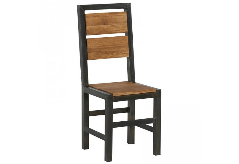 chaise en chne mtal scott casita - Chaise Chene