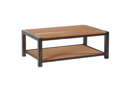 Table basse en chêne & métal Scott L 110 cm CASITA