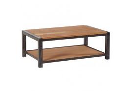 Table basse en chêne & métal Scott L 110 cm CASITA