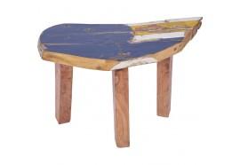 Banc SYA en bois de bateau recyclé