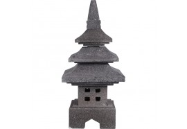 Lanterne japonaise en pierre volcanique 50 cm