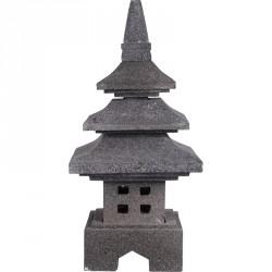 Lanterne japonaise KOCHI en pierre H 50 cm