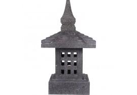 Lanterne japonaise Shiga en pierre volcanique 55 cm